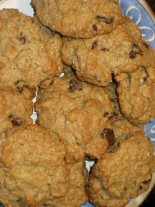 John's Oatmeal Chocolate Chip Cookies
